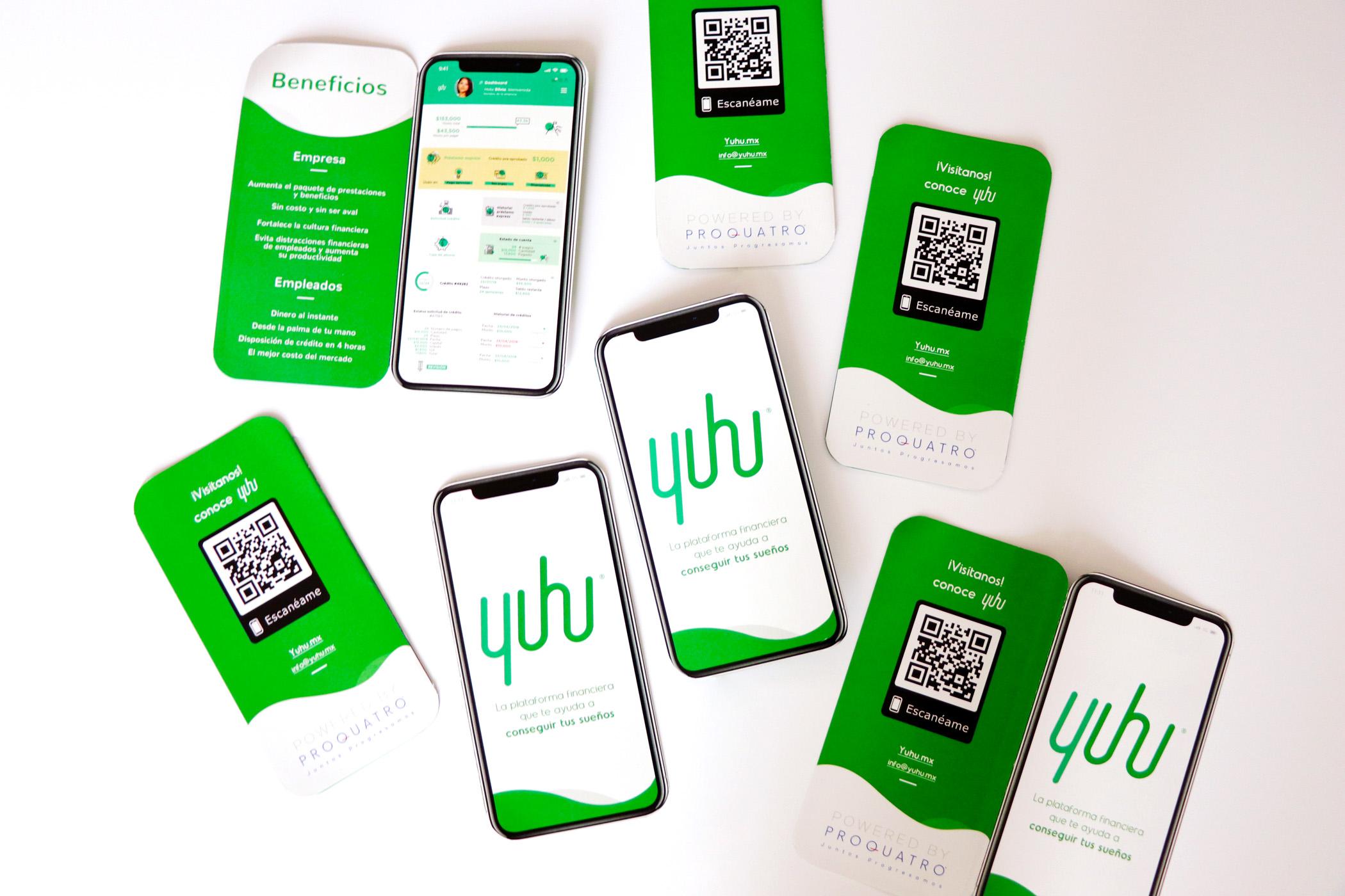 Tarjeta de Producto para presentar un app
