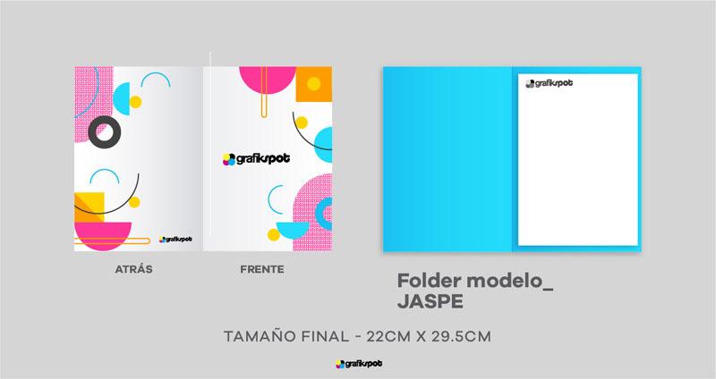 Folder Jaspe