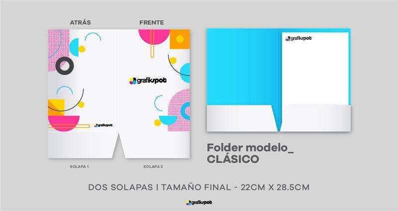 Folder Clásico