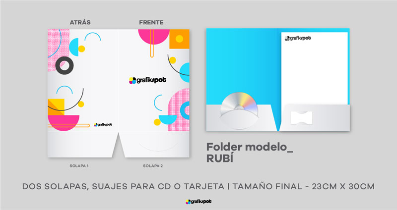 Folder Doble Solapa